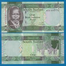 South Sudan 1 Pound P 5 ND (2011) UNC Low Shipping! Combine FREE!