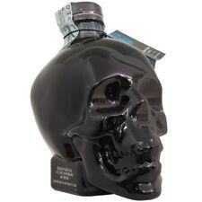 VODKA CRYSTAL HEAD ONYX 70cl - BLACK NERA LIMITED EDITION - bottiglia teschio