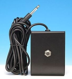"NEW FOOTSWITCH FOOT SWITCH FITS AMPEG GUITAR & BASS AMPLIFIERS 1/4"" ONE BUTTON"
