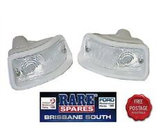 FORD FALCON XP FRONT INDICATOR LENS AND HOUSINGS 1 PAIR (2) RARE SPARES