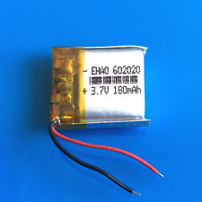 180mAh 3.7V LiPo Rechargeable Battery for MP3 MP4 GPS Headphone Bluetooth 602020