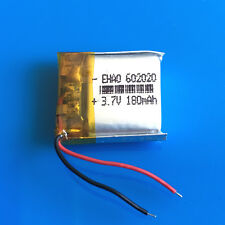 180mAh 3.7V LiPo Rechargeable Battery for MP3 MP4 GPS Headphone Bluetooth 602020