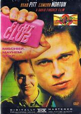 Thriller - Fight Club (Dvd, 2002) (Bilingual) Drama Brad Pitt Edward Norton New