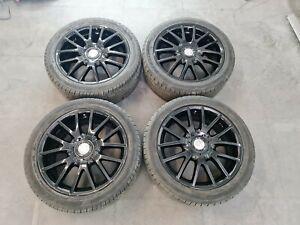 Black Alloys 17 VW Golf GT MK5 Good Tyres 225/45Z R17