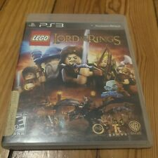 LEGO Lord of the Rings PS3 - TESTED - WORKS GREAT!!