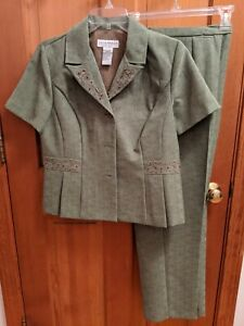 Sag Harbor Petite 2 piece set women's size 8P