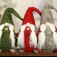 Elf Santa Christmas Decoration Miniature Figurine Resin Craft Party Supplies