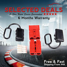 Winch Trailer Quick Connect Plug Kit 120A Driver Recovery Battery 6-10 Gauge
