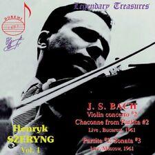 Johann Sebastian Bach - Henryk Szeryng, Vol 1 [CD]