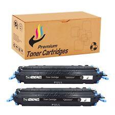 2x Black Q6000A Toner for HP 2605dn cm1015 2600n 1015 1936mfp 3046mfp 4140mfp