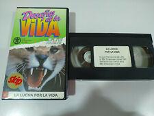 La Lucha por la Vida BBC David Attenborough - VHS Cinta Español