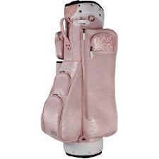 Moda Milan Ladies Golf Sports Cart Bag Case With 6 Way Dividers 6 Pockets - Pink