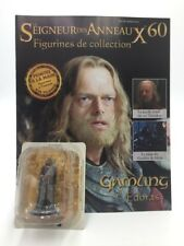 figurine plomb le seigneur des anneaux n60/180 gamling + fascicule eaglemoss