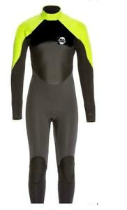 NEW Isosi Childs Full Wetsuit Kids Size 4,14  3mm  (These run big 6-7,16-18)