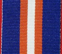 ORIGINAL NEW ZEALAND GENERAL SERVICE MEDAL NON WARLIKE RIBBON FOR MOUNTING