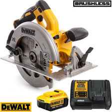Dewalt DCS570N 18 V brushless CIRCOLARE SAW 184 mm con 1 x 4.0Ah Batteria & Caricabatteria
