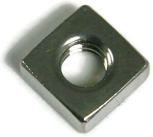 Stainless Steel Square Nuts UNC #10-24, Qty 250