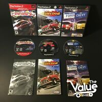 Sony PlayStation 2 Video Game Lot (4 Games): Need for Speed Carbon, & Much More