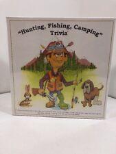 Hunting & Fishing Trivia Game Made in USA Mountainman Enterprises 2003