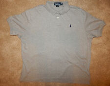 POLO RALPH LAUREN Gray Polo Shirt Men XXL 2X