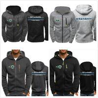 Los Angeles Rams Football Hoodie Sweatshirt Jacket Coat Top Gifts to Fans