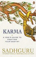 Karma a Yogi's Guide to Crafting Your Destiny by Sadhguru Jaggi Vasudev (2021, Paperback)