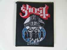 GHOST PATCH Embroidered Iron On PAPA WARRIORS 2014 Heavy Metal Band Badge NEW