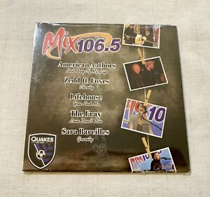 San Jose Quakes Spring 2014 Mix 106.5 Radio Station Giveaway Music CD New Rare