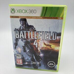 Battlefield 4 (Xbox 360) PEGI 18+ Shoot 'Em Up 2discs very good condition
