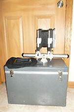 LINHOF 45S Large Format Field Film Camera w/ lens board, case