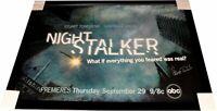 Stuart Townshend Gabrielle Union +1 Signed 30x43 Photo Framed Night Stalker