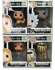 Funko POP! Rick and Morty Season 3 Set of 4 Ships Mint in Box Mad Max Episode