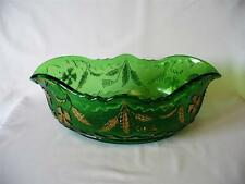 Bowl Victorian (1840-1900) Date-Lined Glass