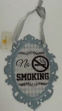 clayre eef Placa de chapa Nostalgia con texto Retro N º smoking LAZO 14 20cm