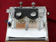 More details for large stereo alignment gauge precise mounting of stereo slides