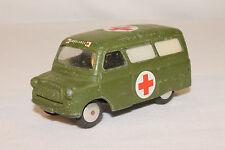 1960's Corgi #414 Bedford Military Ambulance