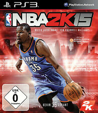 NBA 2k15/2015 pour playstation 3 ps3 | basket | article neuf | version allemande!