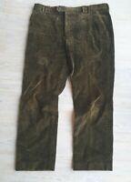 Barbour Mid-Brown Corduroy Trousers W40 L31 Excellent