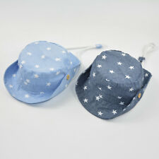 Children Boy Girl Sun Hats Spring Summer Caps Stars Beach Hat Kids Bucket Hats