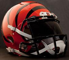 CINCINNATI BENGALS NFL Gameday REPLICA Football Helmet w/ OAKLEY Eye Shield