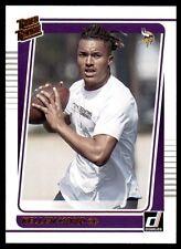 2021 Donruss Rated Rookies Portrait #256 Kellen Mond - Minnesota Vikings
