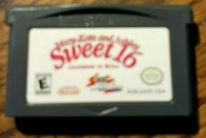 Mary-Kate & Ashley Sweet 16 Licensed to Drive (Nintendo Game Boy Advance) Tested