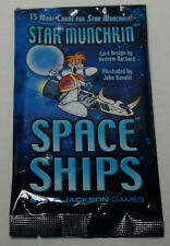 Steve Jackson Games: Star Munchkin Space Ships Expansion Pack  New + bonus