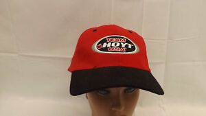 @NEW@ Team Hoyt USA Red/black Fitted Ball Hat/Cap w/Sewn Logo