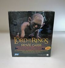 LOTR Lord of the Rings The Two Towers Update Set - Sealed Trading Card Hobby Box