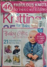Love Knitting For Baby UK March 2017 46 Fabulous Knits Patterns FREE SHIPPING sb