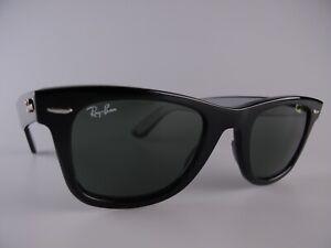 Ray Ban 2140 Wayfarer Sunglasses Size 47-22 Small/Medium Handmade in Italy