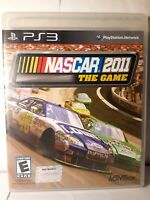 Nascar 2011: The Game (Playstation 3, 2011)~W/ Original Case & Manuals VG LL CIB