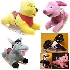 Schaukelpferd Kinder Schaukeltier Plüsch Schaukel Pferd Baby Schaukelspielzeug