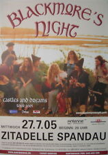 BLACKMORE'S NIGHT CONCERT TOUR POSTER 2005 RAINBOW RITCHIE BLACKMORE